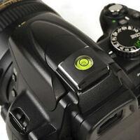 Hot Shoe Protector Cover+Bubble Level for DSLR SLR Camera Canon Nikon Fuji Nikon