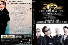 U2. 2017. LIVE IN VANCOUVER. THE JOSHUA TREE TOUR. DVD.