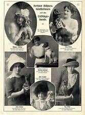Schauspielerin Miß Cutler Bilddokument 1906 Theatergarderobe Auf Rädern* Engl Sammeln & Seltenes