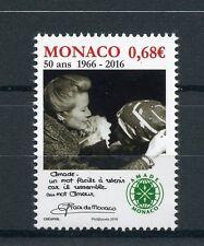 Monaco 2016 neuf sans charnière amade monaco 50th anniv 1v set princesse grace timbres