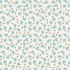 TILDA - Sophie Basics - Sophie Teal - Quilting Fabric 100% cotton