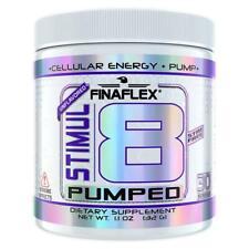 FINAFLEX STIMUL8 PUMPED Non Stim Pre Workout Pump Nitric Oxide Energy 30 serving