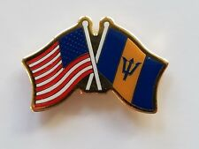 Wholesale Lot 12 Usa Flag American Flag Barbados Flag Lapel Hat Cap Pin Tie Tac