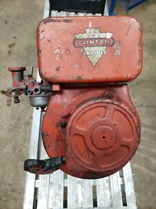 VINTAGE CLINTON 4 STROKE 2 1/4 HP ENGINE MOTOR # A2100 2110 w recoil start