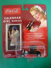 Johnny Lightning Coca Cola Calendar Girl 1920'd Ford T-Bucket Black 1.64 MOC