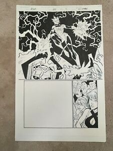 2018 Marvel RYAN OTTLEY Original Comic Art AMAZING SPIDER-MAN Vol 5 #25 Page #11