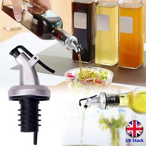 3 Bottle Pourers for Olive Oil, Vinegar, etc. - UK Stock