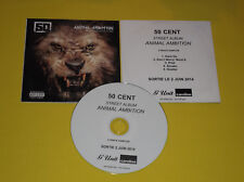 "CD 5 TITRES PROMO 50 CENT ""ANIMAL AMBITION"""
