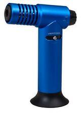 Vertigo Hades Blue Torch Butane Table Lighter, Large Tank, Super Size Flame