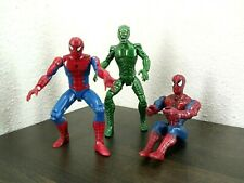 Spiderman & Green Goblin Lot of 3 figures