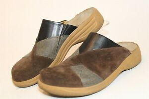 Tatami By Birkenstock Womens 39 8 Suede Leather Clogs Slip On Comfort Shoes