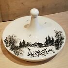 Bering Sea Originals Covered Dish With Lid Hand Painted In Alaska - Swanky Barn