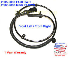 NEW ABS WHEEL SPEED SENSOR for 05-08 Ford F-150 Mark LT 2WD Front right / Left