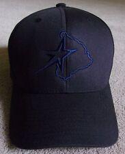 NEW~VINTAGE~DALLAS STARS~BALL CAP/HAT~PACIFIC 302C PRO MODEL~SNAP BACK TRUCKER