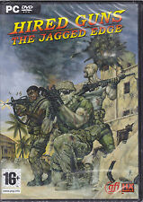 PC Gioco **HIRED GUNS ♣ THE JAGGED EDGE** nuovo Italiano