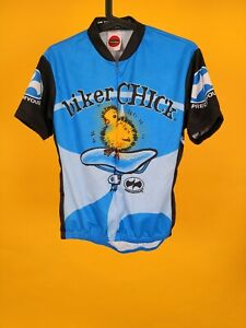 World Jerseys -  Cycling Road biker chick rare precarious what life is size L