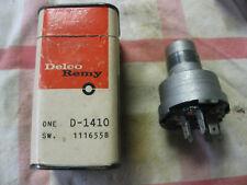 Delco NOS 1959-60-61 Pontiac Ignition Switch 1116558 D-1410