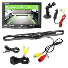 Pyle Backup Rearview Camera & Monitor Parking/Reverse Assist System, Waterproof,