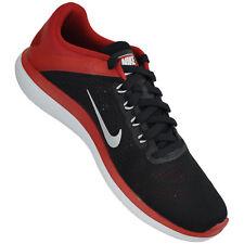 Nike Mens Sneakers  Black/Metallic Silver/University Red  Men's Size 11