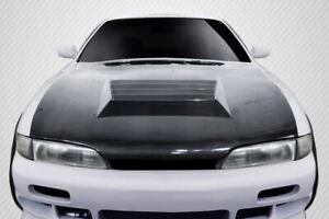 95-96 Fits Nissan 240SX D-Spec Carbon Fiber Creations Body Kit- Hood!!! 114100