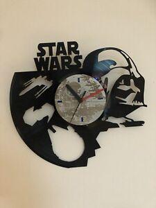 Star Wars Darth Vader Vinyl Record Wall Clock Gift