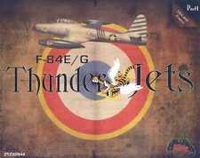 Zotz Decals 1/32 REPUBLIC F-84E F-84G THUNDERJET Part 1