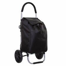 Negro Carrito de compras, 5 bolsillos, con cinco inteligente Simple