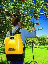 Backpack Sprayer Pesticide Chemical Fertilizer Pump Battery Lawn Weed Garden NEW