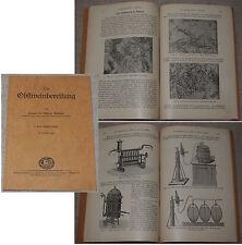 Prof.Dr. Richard Meißner DIE OBSTWEINBEREITUNG Verlag Eugen Ulmer Stuttgart 1930