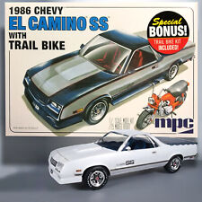 MPC 1/25 1986 CHEVY EL CAMINO SS WITH TRAIL BIKE SPECIAL BONUS MODEL KIT 888
