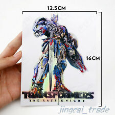 Laser Chrome Transformers Autobot The Last Knight Car Badge Emblem Sticker Decal