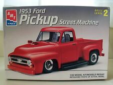 AMT / ERTL - 1953 FORD F-100 PICKUP TRUCK STREET MACHINE - MODEL KIT (OPENED)