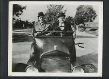 LAUREL & HARDY PHOTO - 1929 BIG BUSINESS - ROACH SILENT SHORT - 1960s REPRINT