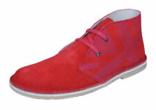 Calzado de niña rojos rojos de ante