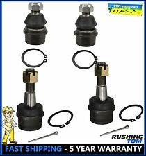 New 4Pc Upper & Lower Ball Joints For Dana 44 Front Axle 4X4 Dodge Ford Chevy