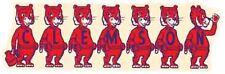 CLEMSON  University  - TIGERS  College  Vintage Looking   Travel Decal  Sticker