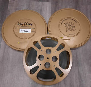 16mm WALT DISNEY Shorts - Mickey Mouse 800' reel - Silent BW