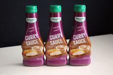 3 Flaschen Develey Curry Sauce 250ml Original McDonalds Mc Donalds BBQ Grillen