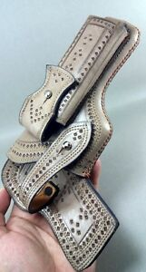 WoW handcrafted beretta & all 9mm Universal  Stylish leather Holster .