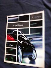 2007 Honda Accord Coupe USA Market Color Brochure Catalog Prospekt