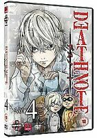 Death Note Volume 4 Episodes 25-28 DVD Shusuke Kaneko UK Release New Sealed R2