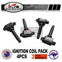 4PCS Ignition Coil for Mazda CX-3 BL CX-5 BM BN Engine PE-VPS /PY-VPS 2.0L 2.5L