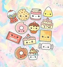 35 Pack Paper Kawaii Cakes and Cookies Stickers SET 1