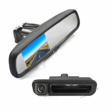 Backup Camera & Replacement Mirror Monitor for Ford Focus (2012-2014)