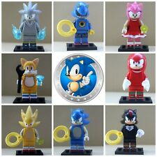 Sonic The Hedgehog Toys Action Mini Figures Cartoon Movie Video Game PS4 XBOX 1