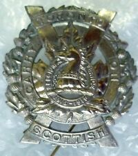 Badge- Canadian Toronto Scottish Cap badge 1916-1919 (WM)