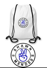 Shawn Mendes Drawstring Bag 100% Nylon