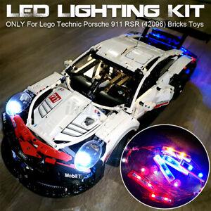LED Light Lighting Kit ONLY For Lego 42096 Technic Porsche 911 RSR Bricks  √