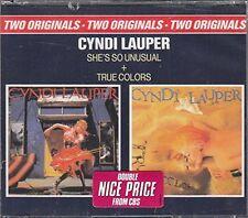 Cyndi Lauper She's so unusual/True colours (1983/86) [2 CD]