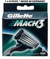 Gillette  Mach  3- 8 Blades (1 x 8 Pack)